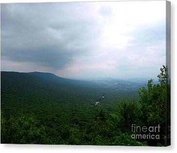 Overlook Canvas Print by Melissa Stoudt