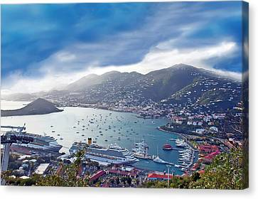 Overlooking The Bay Canvas Print by Aimee L Maher Photography and Art Visit ALMGallerydotcom