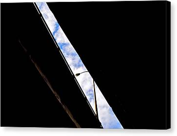 Overpass Morning Canvas Print