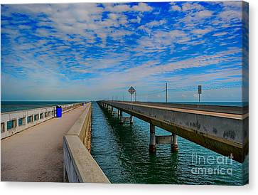 Overseas Highway Florida Keys Canvas Print