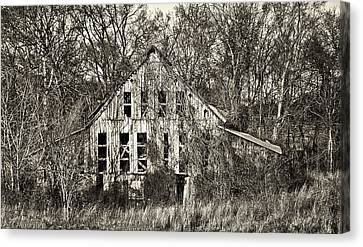Canvas Print featuring the photograph Overtaken by Greg Jackson