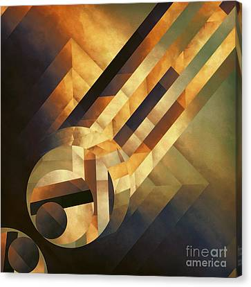 Overwhelming Dimensionality Canvas Print by Lonnie Christopher