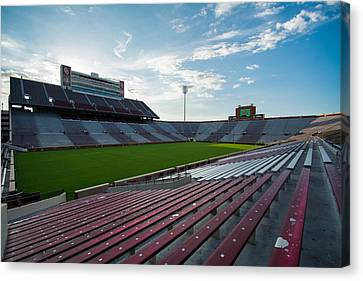Owen Field  Canvas Print by Nathan Hillis