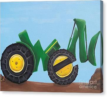 Owen Canvas Print by Tracie Davis