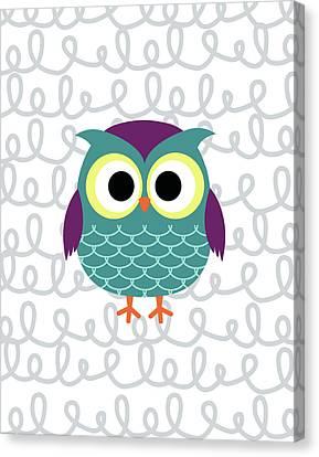 Owl 3 Canvas Print by Tamara Robinson