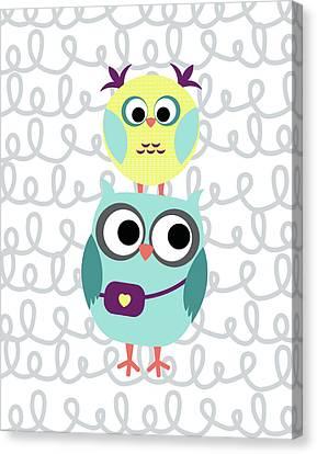Owl 5 Canvas Print by Tamara Robinson