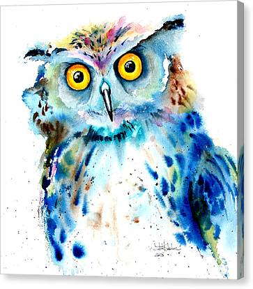 Owl Canvas Print by Isabel Salvador
