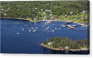 Owls Head, Maine Me Canvas Print by Dave Cleaveland