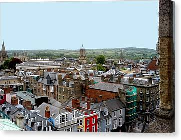Oxford Town Canvas Print by Joseph Yarbrough