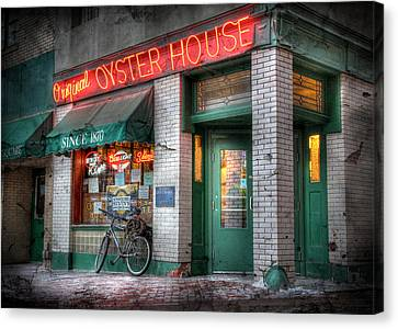 Oyster House Canvas Print by Lori Deiter