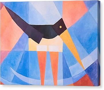 Oystercatcher Deco Canvas Print