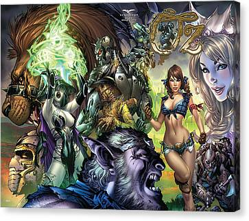 Oz 01k Canvas Print by Zenescope Entertainment