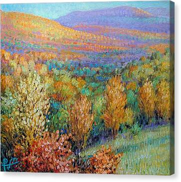 Ozark Fall Canvas Print by Henry David Potwin