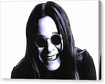 Ozzy Canvas Print by Dan Sproul