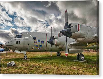 P-3a Canvas Print by Guy Whiteley