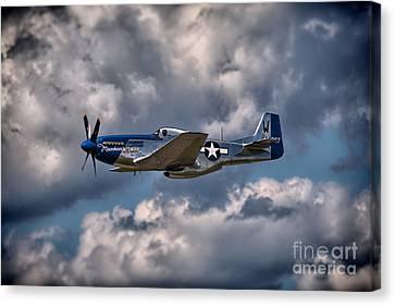 P-51 Mustang Canvas Print