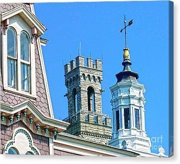 P-town Towers Canvas Print