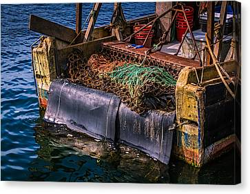 P-towns Fishing Troller  Canvas Print by Susan Candelario