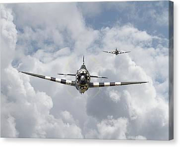 P47 D - Thunderbolt Canvas Print by Pat Speirs