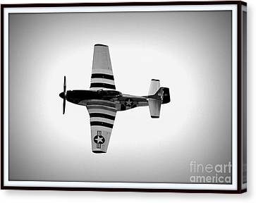 P51 King Of The Skies Canvas Print