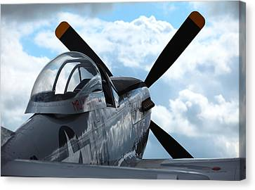 P51 Canvas Print by Remy NININ