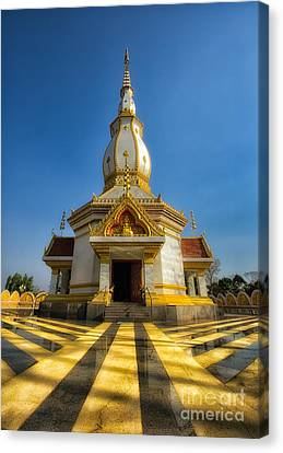 Pa Dong Wai Temple  Canvas Print by Adrian Evans