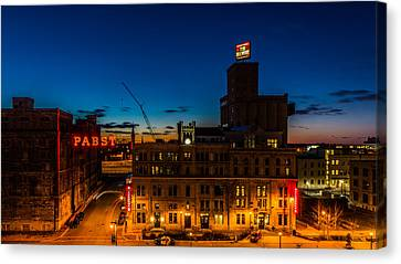 Pabst U-turn Canvas Print