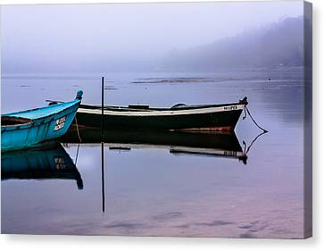 Pacheco Blue Boat Canvas Print