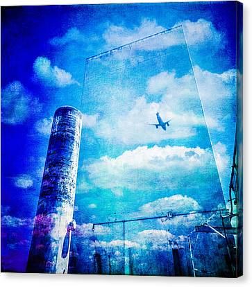 Pacific Airmotive Corp 30 Canvas Print by YoPedro