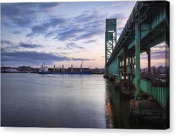 Pacific Basin Canvas Print by Eric Gendron