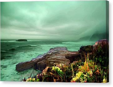 Pacific Beauty Canvas Print by Dale Stillman