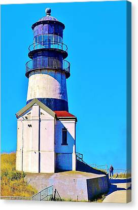 Pacific Coast Light House Canvas Print