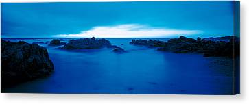 Pacific Coast Monterey Ca Usa Canvas Print by Panoramic Images