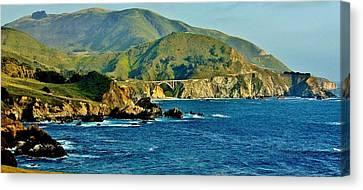 Pacific Coast Panorama Canvas Print
