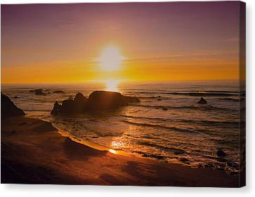 Pacific Gold Canvas Print