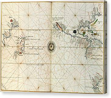 Seacoast Canvas Print - Pacific Ocean by British Library