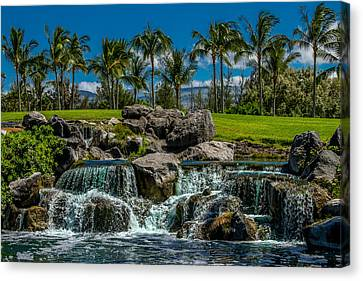 Canvas Print - Pacific Paradise by Bill Gallagher