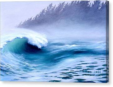 Pacific Power  Canvas Print by Michael Swanson