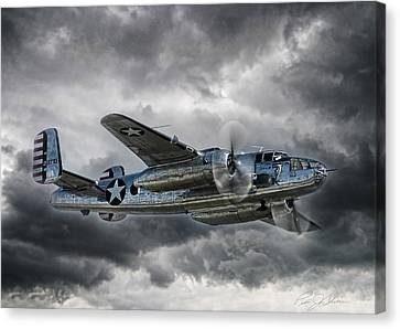 Pacific Prowler Canvas Print by Peter Chilelli