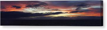Pacific Sunrise Canvas Print