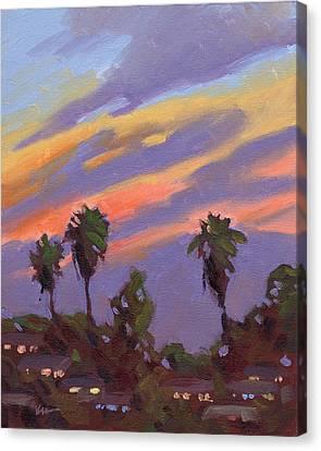 Pacific Sunset 1 Canvas Print by Konnie Kim
