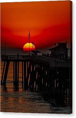 Pacific Sunset Number 1 Canvas Print