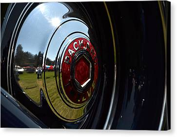 Canvas Print featuring the photograph Packard - 2 by Dean Ferreira