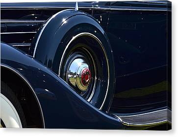 Canvas Print featuring the photograph Packard - 1 by Dean Ferreira