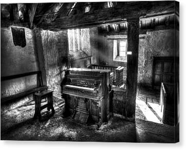 Packard Fort Wayne Organ Company Indiana Canvas Print by Mal Bray