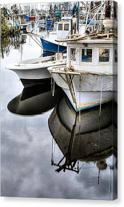 Packed In Bayou La Batre Canvas Print