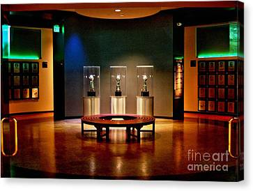 Packer Hall Of Fame Canvas Print by Tommy Anderson