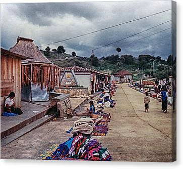 Street Wares Canvas Print