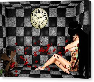 Padded Room Visions Canvas Print by Kristie  Bonnewell