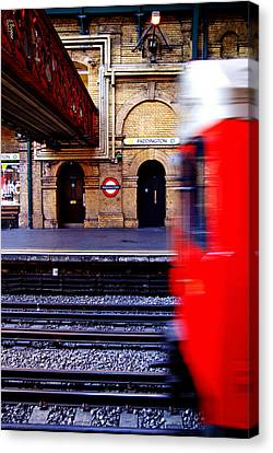 Paddington Station Tube Canvas Print